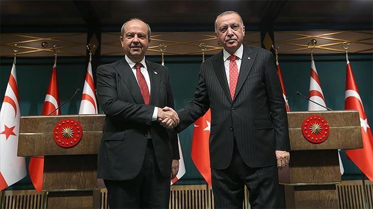 Cumhurbaşkanı Erdoğan'dan Ersin Tatar'a tebrik mesajı - Son Dakika Haberleri Milliyet