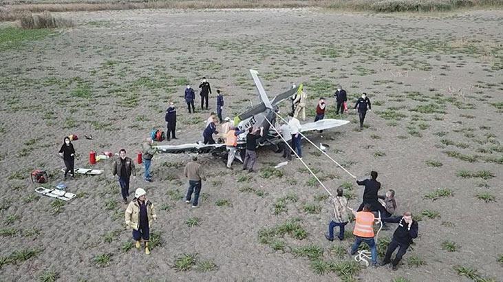Son dakika! İstanbul'da eğitim uçağı düştü... Görgü tanığından ilk  ifadeler... - Son Dakika Milliyet