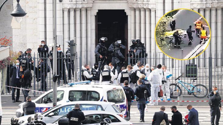 Fransa'da kiliseye saldırı! - Son Dakika Haberleri Milliyet