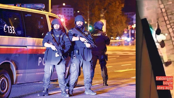 Viyana'da terör saldırısı - Güncel Haberler Milliyet