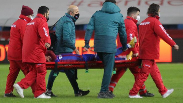 SON DAKİKA! Trabzonsporlu Abdülkadir Ömür'ün ayağı kırıldı... 4 ay  sahalardan uzak - Trabzonspor - Spor Haberleri