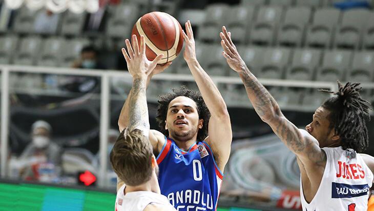 Bahçeşehir Koleji - Anadolu Efes: 76-100 - Basketbol Spor Haberleri