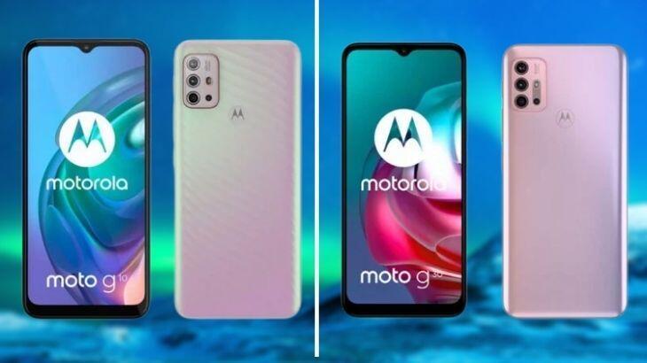 Motorola Moto G10 ve Moto G30 için ortaya çıkan özellikler