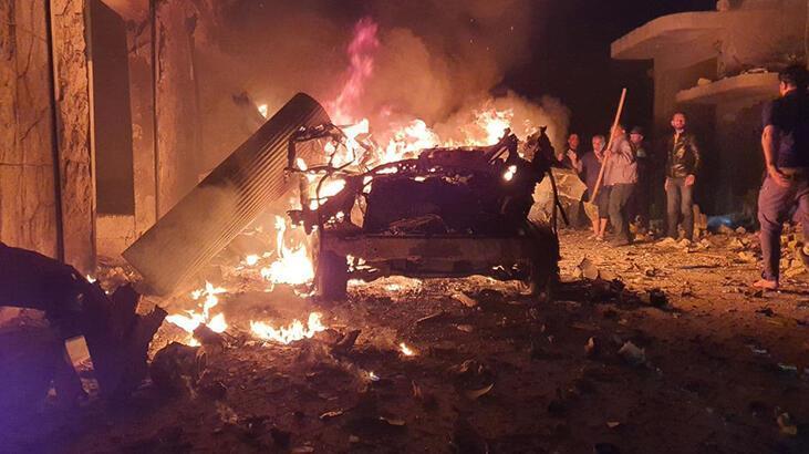 Suriye'nin Azez ilçesinde terör saldırısı: Siviller yaralandı