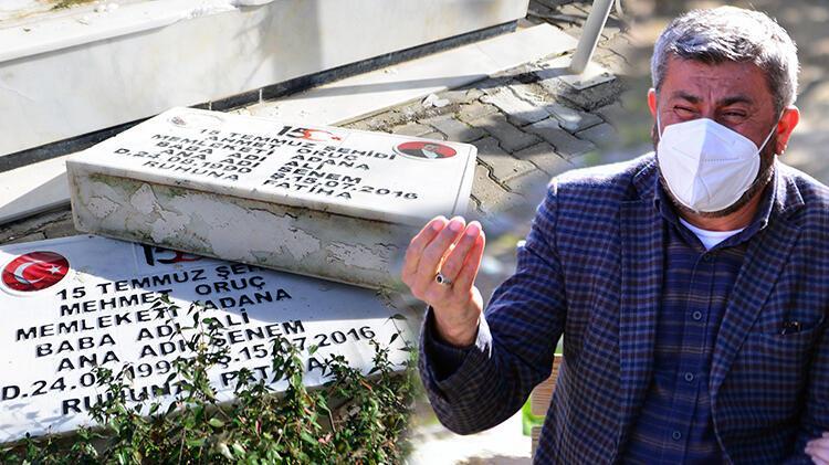 Mezar taşları kırılan ikiz şehitlerin babası: Ahmet'imi, Mehmet'imi rahat bırakmıyor hainler