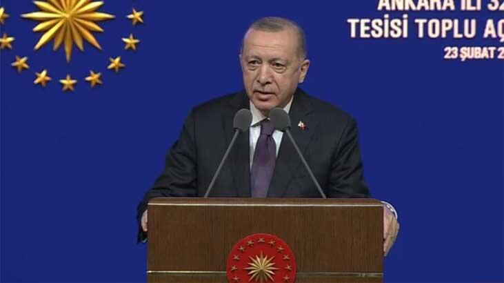 Son dakika... Cumhurbaşkanı Erdoğan'dan eğitim tesisleri açılış töreninde önemli açıklamalar