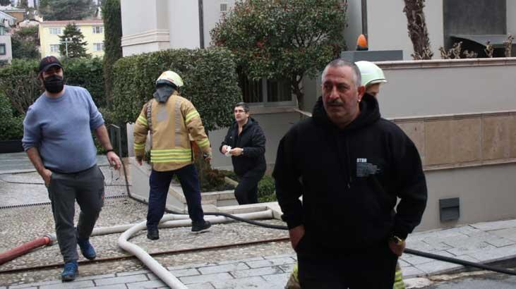 Son dakika... Cem Yılmaz'ın evinde yangın çıktı - Haberler Milliyet