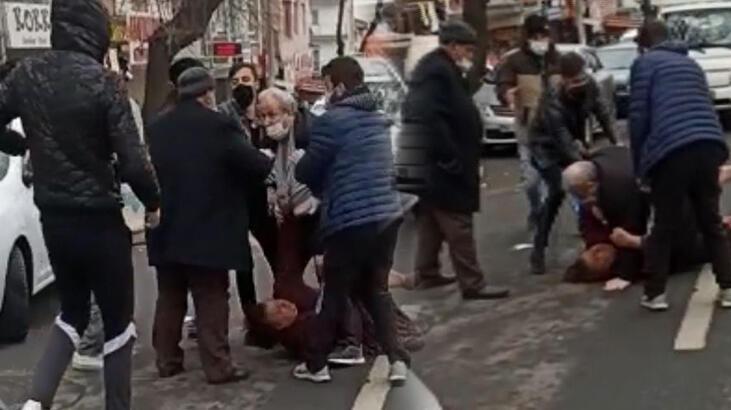 Son dakika... Ankarada sokak ortasında kadına şiddet