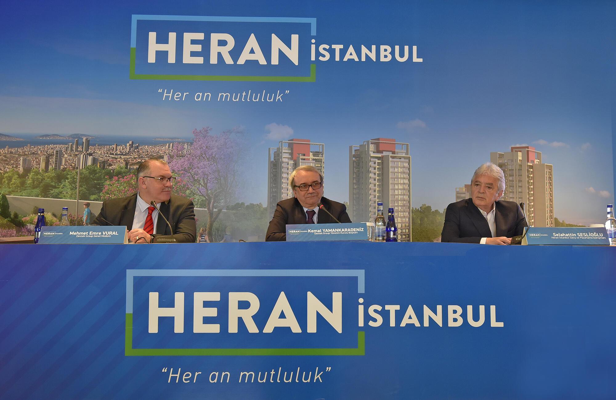 """Pencereleri Deniz Ve Adalara Açılan """"Heran İstanbul"""" Lanse Edildi"""
