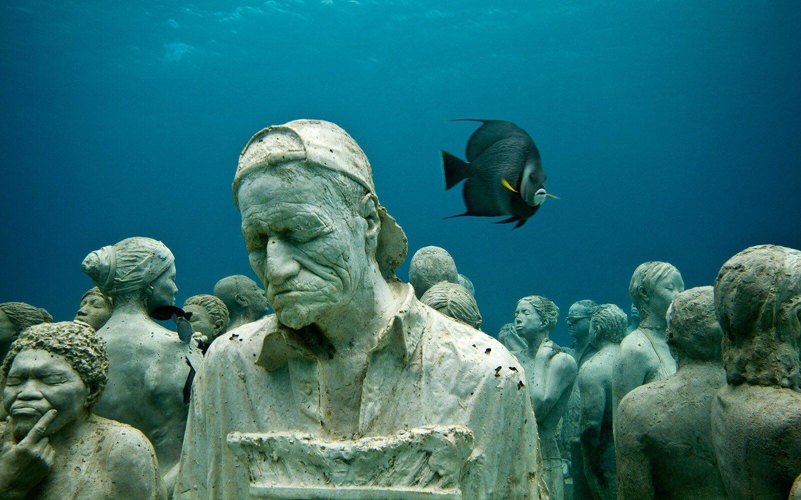 Dünyanın En İlginç Müzelerinden Biri: Meksika Sualtı Heykel Müzesi -  Milliyet Emlak