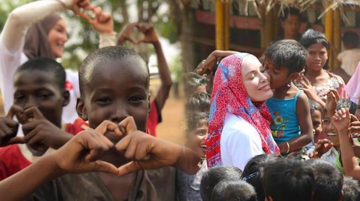 Gamze Özçelik'i duygulandıran ziyaret: Çok güzelsiniz be çocuklar thumbnail