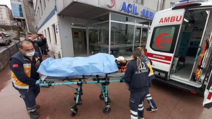 Tersanede iskeleden düşen işçi yaralandı thumbnail