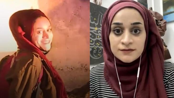 Tutuklanırken gülümseyen Mariam Afifi o anları anlattı