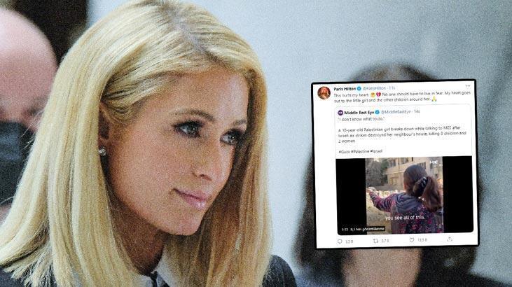 Paris Hilton İsrail'i eleştiren paylaşımını sildi