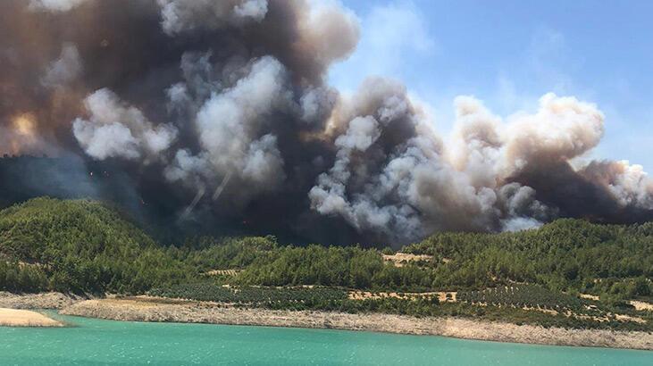 Son dakika... AFAD'dan Manavgat'taki yangınla ilgili açıklama