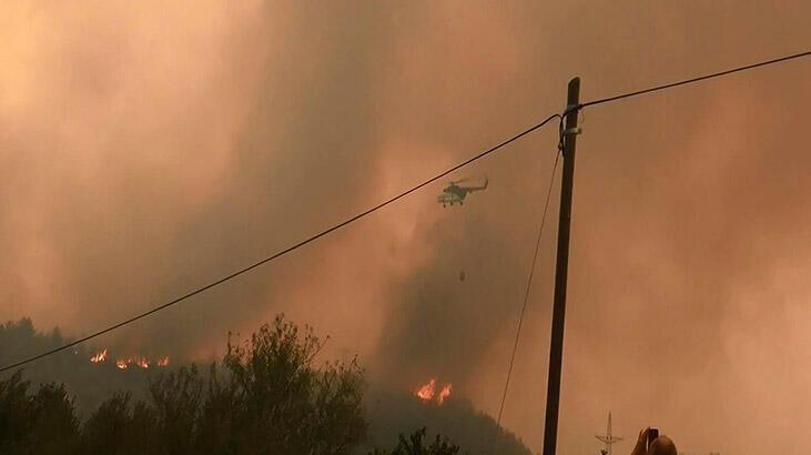 THK'dan yangınlara ilişkin açıklama: 20 hava aracı müdahalede bulunuyor