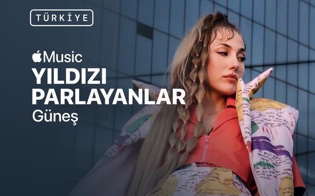 Apple Music Yıldızı Parlayanlar programı Güneş ile Türkiye'de
