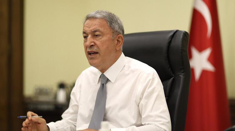 Millî Savunma Bakanı Hulusi Akardan orman yangınlarıyla ilgili açıklama
