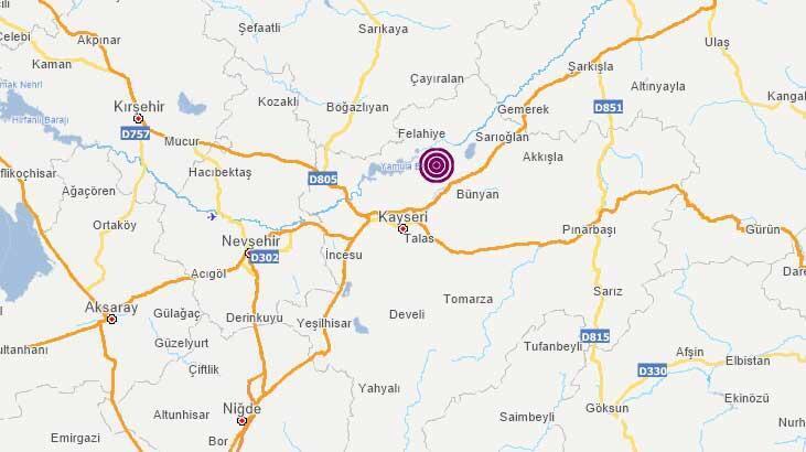 Kayseri'de deprem mi oldu, nerede, kaç şiddetinde? 4 Ağustos son depremler listesi... thumbnail