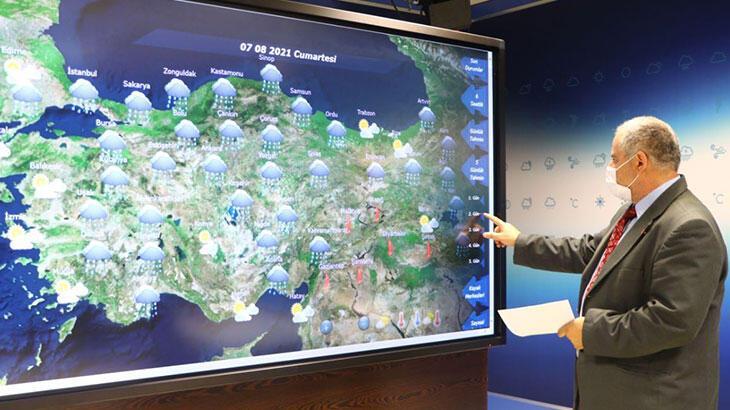 Son dakika... Meteoroloji'den Antalya ve çevresi için yağış tahmini thumbnail