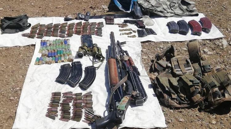Van'da PKK'ya ait silah ve mühimmat ele geçirildi! thumbnail