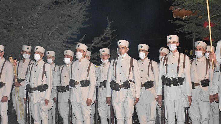 Büyük Taarruz'un 99. yıl dönümünde 'Zafer Yürüyüşü'