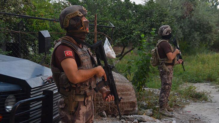 Adana'da torbacı operasyonu: 9 gözaltı