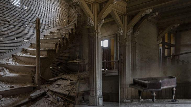 Büyükada Rum Yetimhanesi'nin son hali: İçi görüntülendi