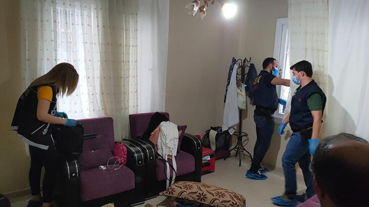 Mersin'de terör örgütü propagandasına 4 gözaltı