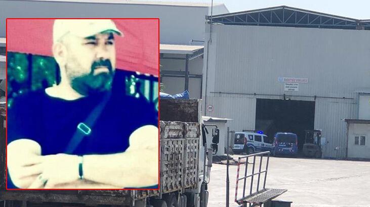 Fabrikada başına demir parçası düşen işçi, öldü