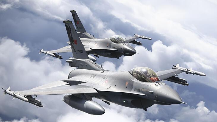 SON DAKİKA || NATO sınırları F-16'lara emanet!