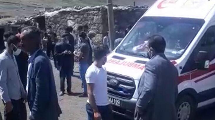 Arazide bulduğu cisim patladı! Kendisi öldü, eşi ,oğlu ve kızı yaralandı