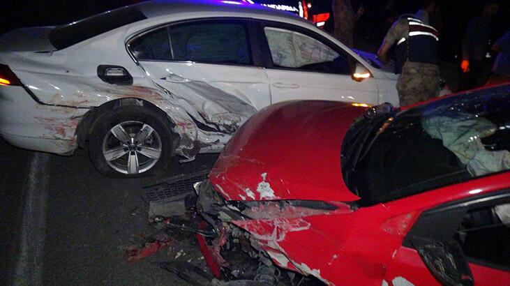 Adıyaman'da trafik kazası! 4 yaralı var