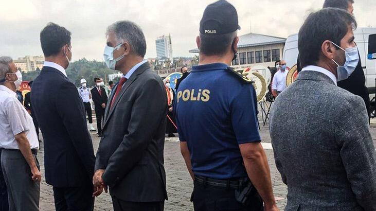 Erdoğan'ın mesajı okunurken törene sırtını döndü! Akşener'den tepki - Güncel Haberler Milliyet