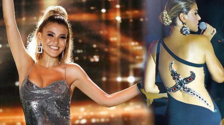 Haberler: Gülben Ergen'in sahne kıyafetinde 'Hançer' detayı... - Magazin  Haberleri - Milliyet