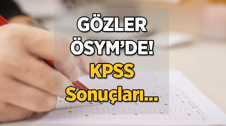 Heyecanlı bekleyiş! 2021 KPSS lisans sonuçları ne zaman saat kaçta açıklanacak?