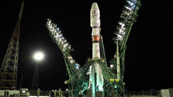 Rusya Uzay Ajansı duyurdu! 34 uydu daha fırlatıldı...