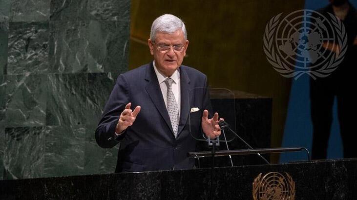 Başkanlığını devreden Bozkır'dan mesaj: BM ürkek davranıyor