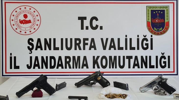 Silah kaçakçılığı operasyonunda 2 şüpheli yakalandı