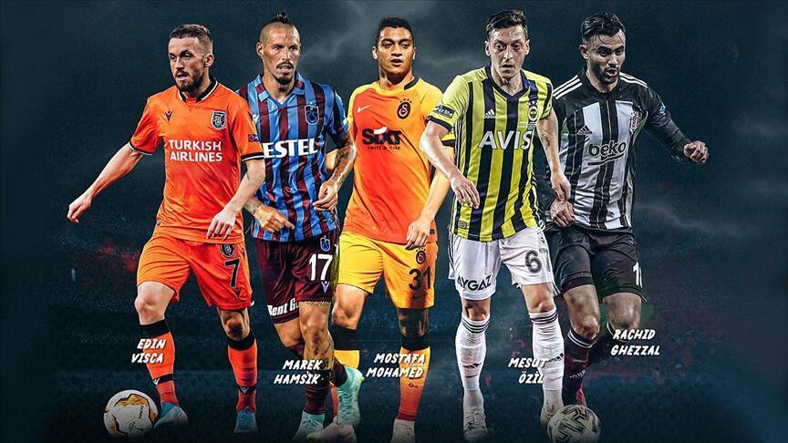 Süper Lig'de haftanın kalan maçları ve alınan sonuçlar & Süper Lig 5. hafta puan durumu... - Futbol - Spor Haberleri