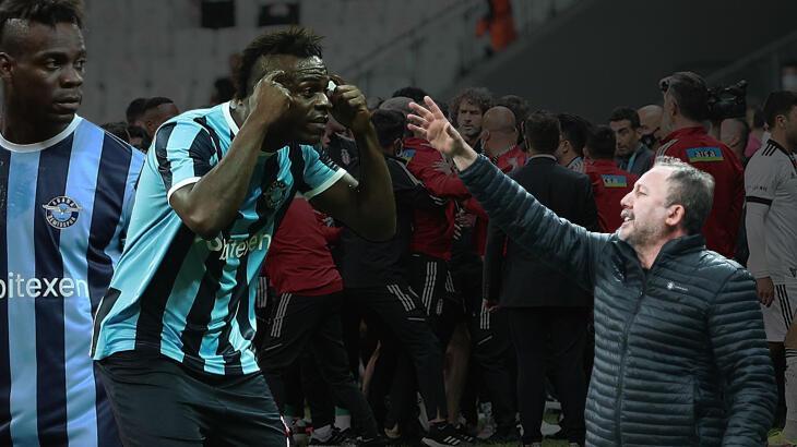 Son dakika Beşiktaş haberleri: Beşiktaş-Adana Demirspor maçı sonrası olay Balotelli sözleri: 'Küstah, saygısız! - Milliyet
