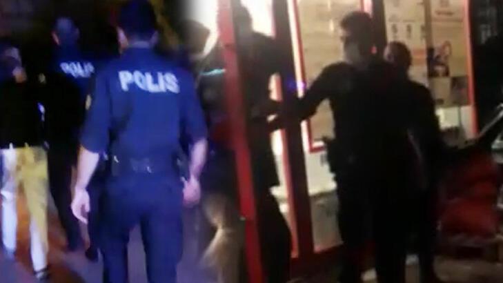 Market çalışanına zarflı taciz! Dövülüp polise teslim edildi