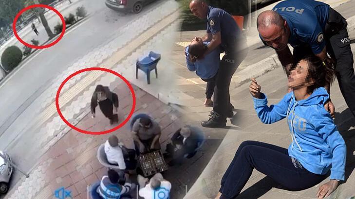 Akılalmaz istek! Satırla saldıran sevgilisinin tutuksuz yargılanmasını istedi