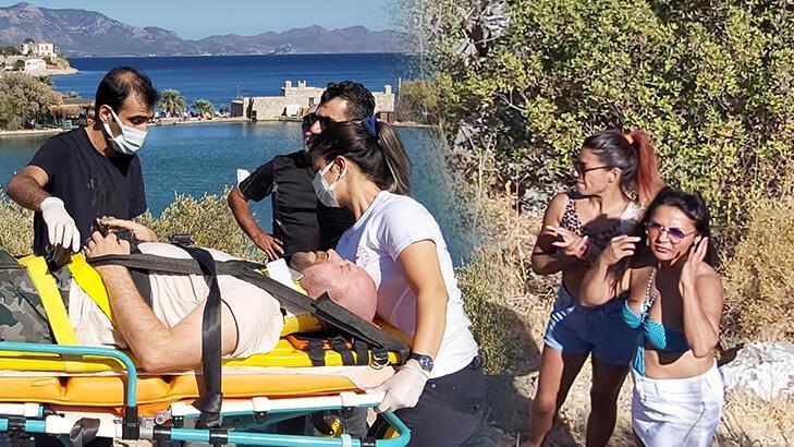 Şarampole yuvarlanan ATV sürücüsü ağır yaralandı