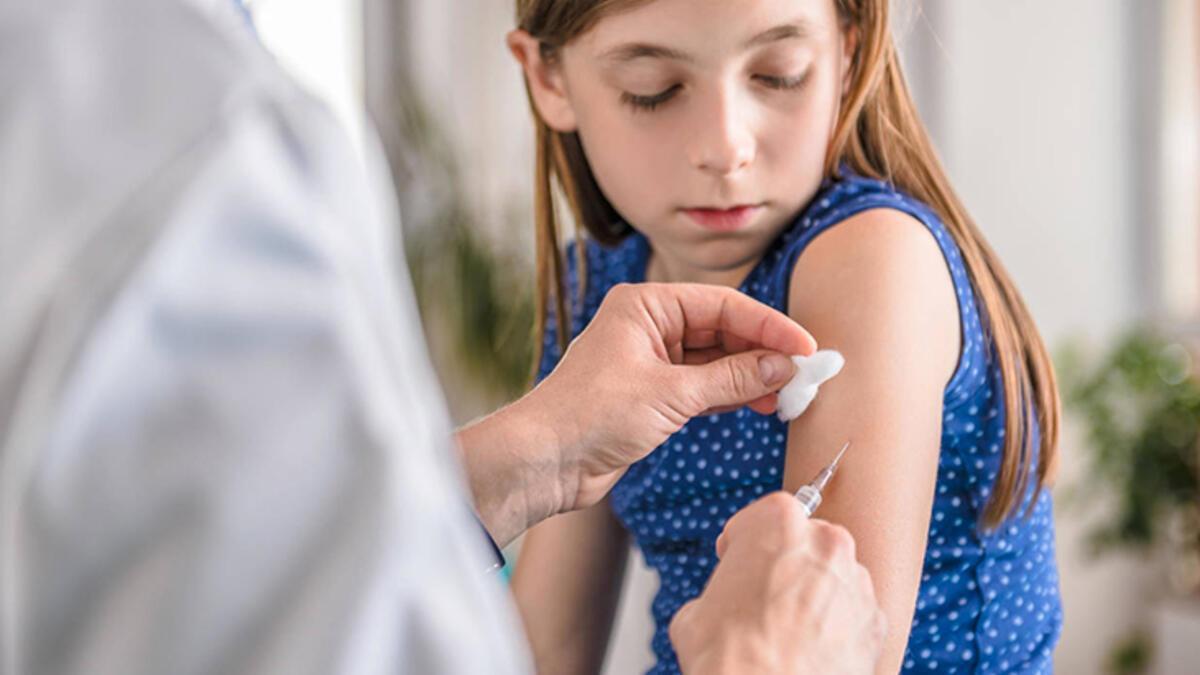 Çocuklar grip aşısı yaptırmalı mı?