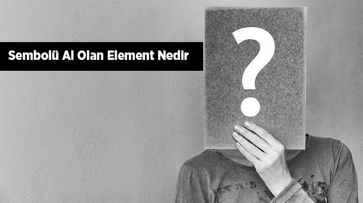 Sembolü (Simgesi) Al Olan Element Nedir? Alüminyum Elementi Hangi Gruptadır?
