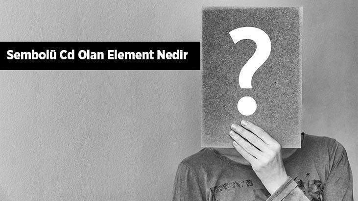 Sembolü (Simgesi) Cd Olan Element Nedir? Kadmiyum Elementi Hangi Gruptadır?
