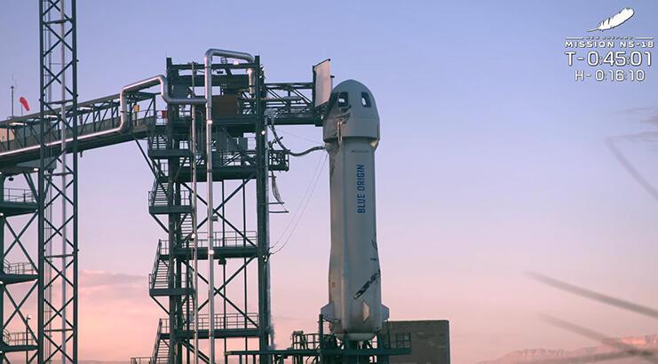 New Shepard ile uzaydaki en yaşlı insan rekoru kırılacak!