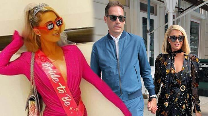 Paris Hilton'dan bekarlığa veda partisi