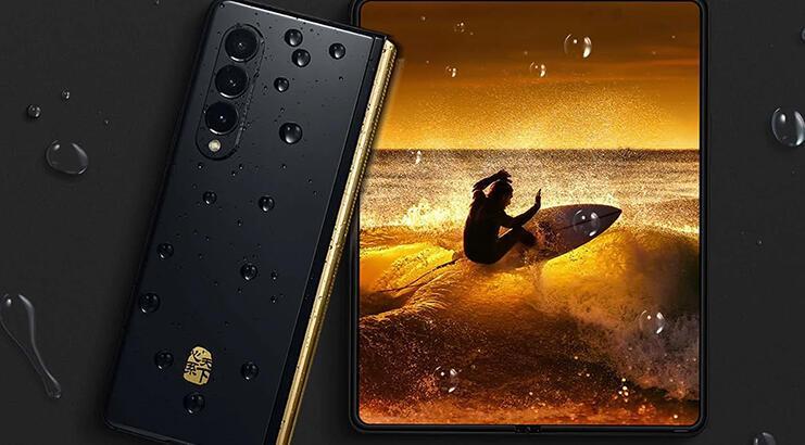 Muazzam rakama satışa çıktı: 25 bin TL'lik Samsung Galaxy Z Fold 3 W22!